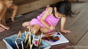 Langkawi Malaysia Tanjung Rhu Resort Kids Batik Painting