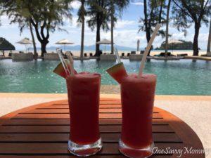 Langkawi Malaysia Tanjung Rhu Resort Chill Poolside