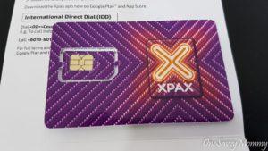 Langkawi Malaysia Sim Card - XPAX