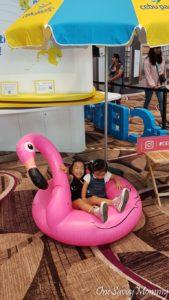 Singapore Changi Airport Terminal 4 Flamingo Floatie