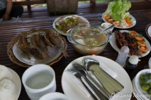 Davao Eden Garden Park Fishing Village Food
