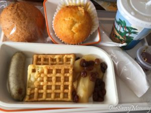 Singapore Airlines Brunch Children Food