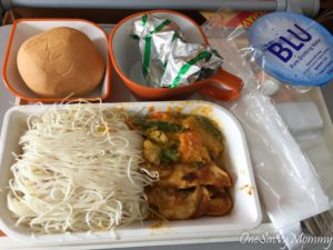 Singapore Airlines Brunch Adult Food