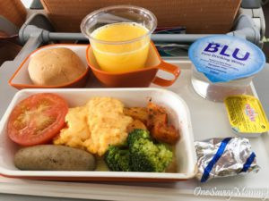 Singapore Airlines Brunch Adult Meal