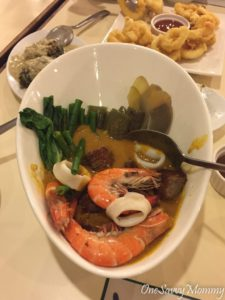 Davao City Yellow Fin Restaurant Seafood Kare Kare