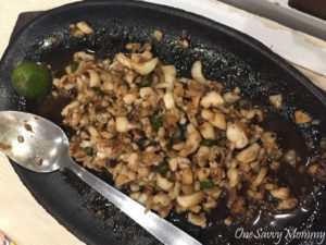 Davao Chika-an Squid Sisig