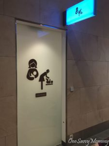 Singapore Changi Airport Terminal 4 Baby Room