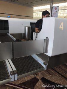Singapore Changi Airport Terminal 4 Check-In