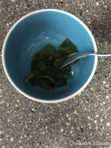 Pressed Oregano Leaves
