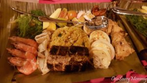 Pearl Farm Beach Resort Dinner Grill BBQ Food
