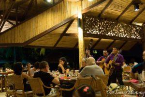 Pearl Farm Beach Resort Dinner Singers