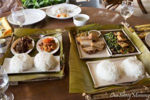 Pearl Farm Beach Resort Lunch Set Food