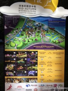 Mid Autumn Festival at Gardens by the Bay Map