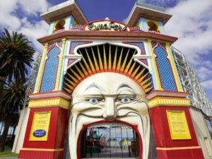 Melbourne St Kilda Luna Park