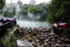 Beitou Hell Valley with Kids