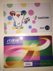 Easycard and Octopus Card
