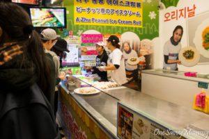 Jiufen Old Street Peanut Ice Cream Roll