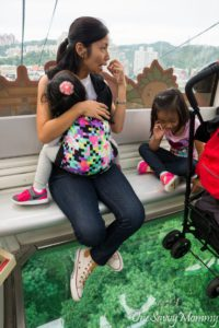 Maokong Gondola Crystal Cabin with Kids