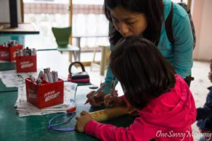 Pingxi Writing Wish on Bamboo Flutes with Kids