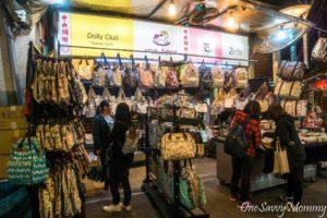 Shilin Night Market Uma Hana Shop