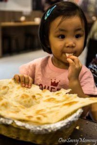 Taipei 101 Foodcourt Indian Food Prata