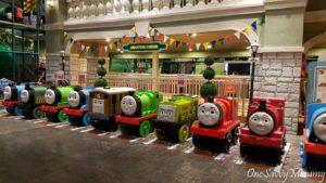 Hello Kitty Town Thomas Town Train Ride