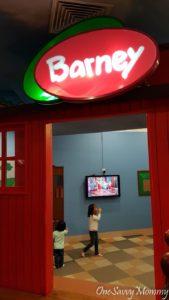 Hello Kitty Town Thomas Town Barney