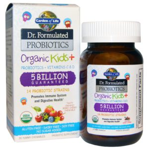 Kids Eczema Probiotics Garden of Life
