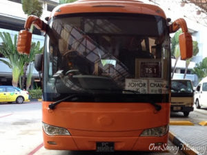 TS1 Shuttle Bus To JB in Changi Airport
